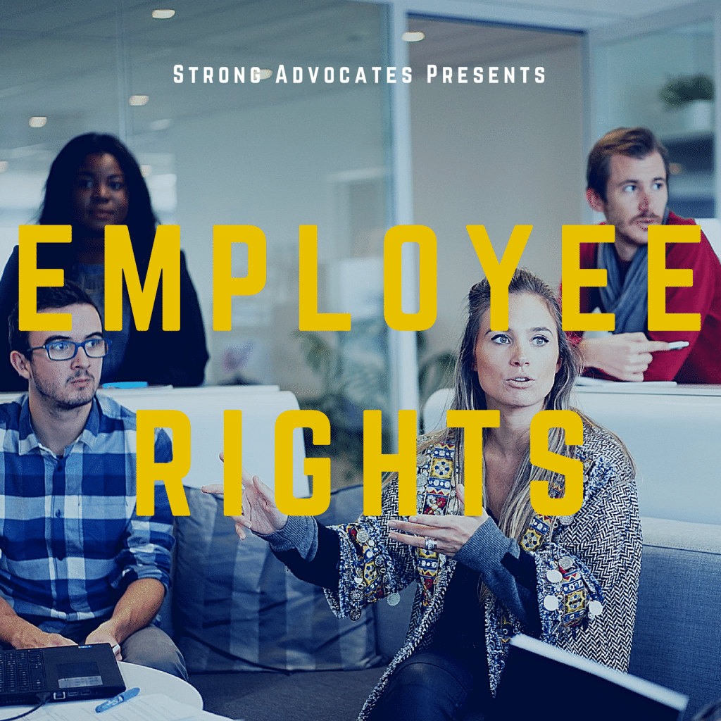Employee rights album cover