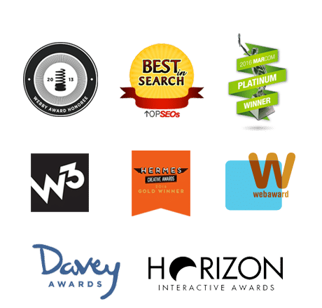 Law firm marketing, SEO, and web design awards