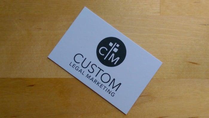 CLM Logo Business Card
