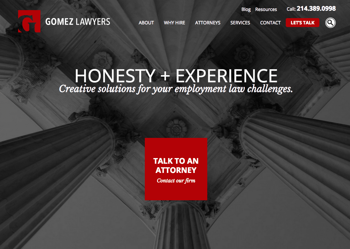 The CLM websites gives your law firm a custom look that comes with an easy interest-free payment plan.