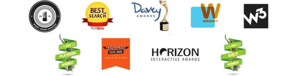 Awards for law firm websites