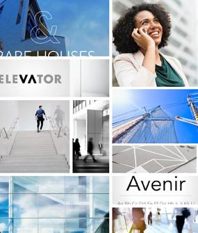 moodboard corporate web