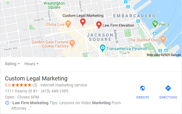 san francisco law firm marketing Google Search
