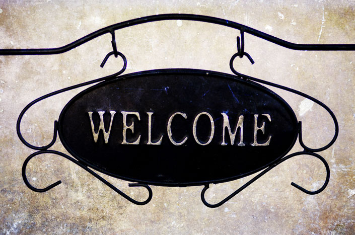 Make your website visitors feel welcome